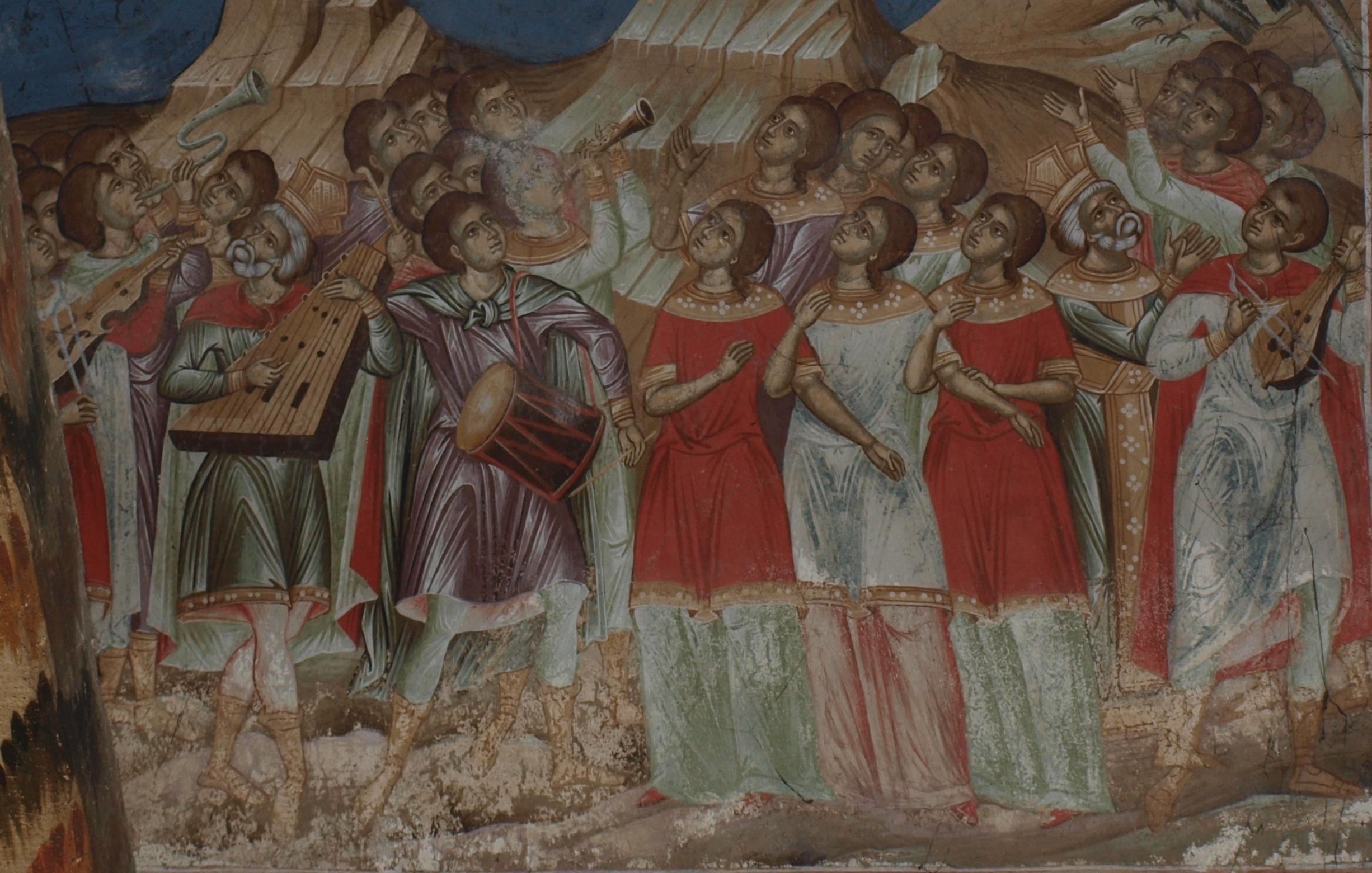 Τοιχογραφία.